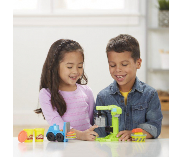 Play-Doh Wheels Dźwig - 487263 - zdjęcie 2