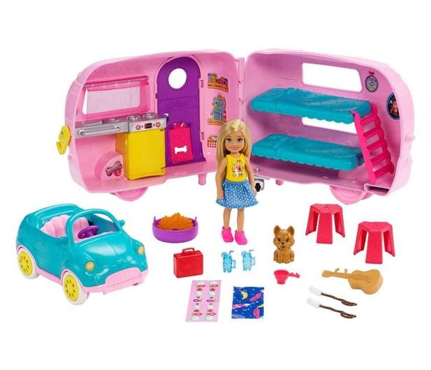 Barbie Przyczepa Kempingowa Chelsea + Lalka - 487225 - zdjęcie