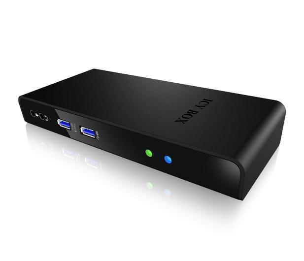 ICY BOX USB - USB, HDMI, RJ-45, DVI - 485725 - zdjęcie