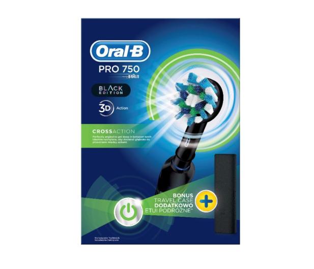 Oral-B Pro 750 Black - 487636 - zdjęcie 2