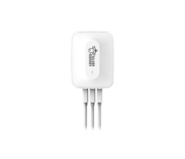 Silver Monkey Ładowarka sieciowa 3x USB, Quick Charge 3.0 - 487144 - zdjęcie 5