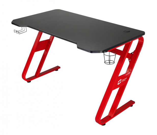 SpeedLink SCARIT Gaming Desk (Czarno-Czerwone) - 487363 - zdjęcie
