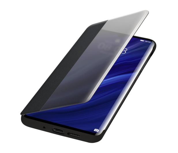 Huawei Smart View Flip Cover do Huawei P30 Pro czarny - 484466 - zdjęcie 3