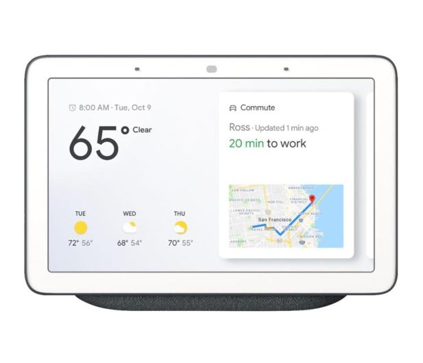 Google Home Hub czarny - 486932 - zdjęcie