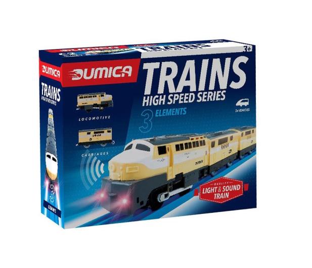 Dumel Dumica City Train kolejka C2  - 487934 - zdjęcie