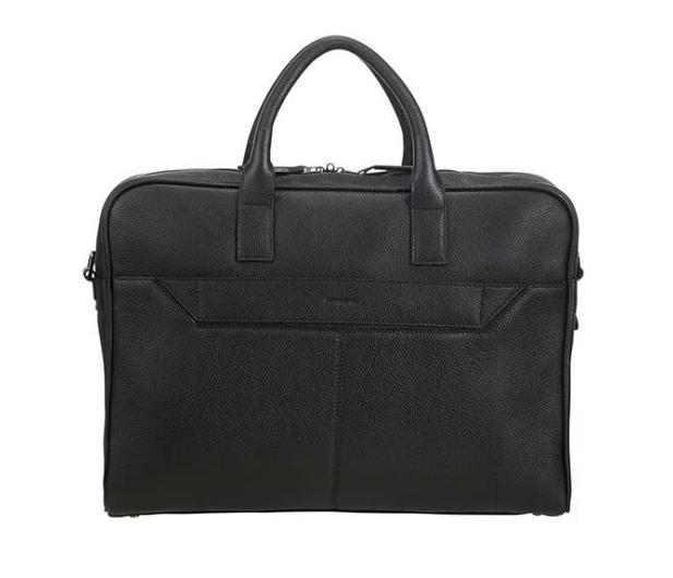"Samsonite Senzil 15,6"" Leather Black - 489093 - zdjęcie 2"