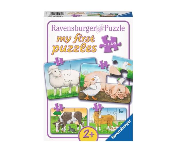 Ravensburger Urocze Zwierzęta na farmie - 481748 - zdjęcie