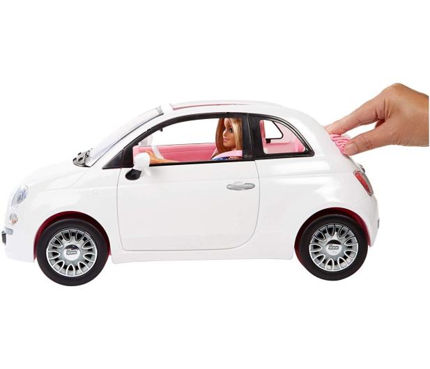 Barbie Auto Fiat 500 z Lalką - 483528 - zdjęcie 3