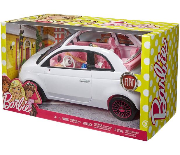 Barbie Auto Fiat 500 z Lalką - 483528 - zdjęcie 7