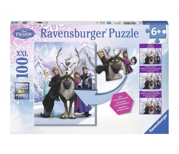 Ravensburger Disney Frozen różnice - 482513 - zdjęcie