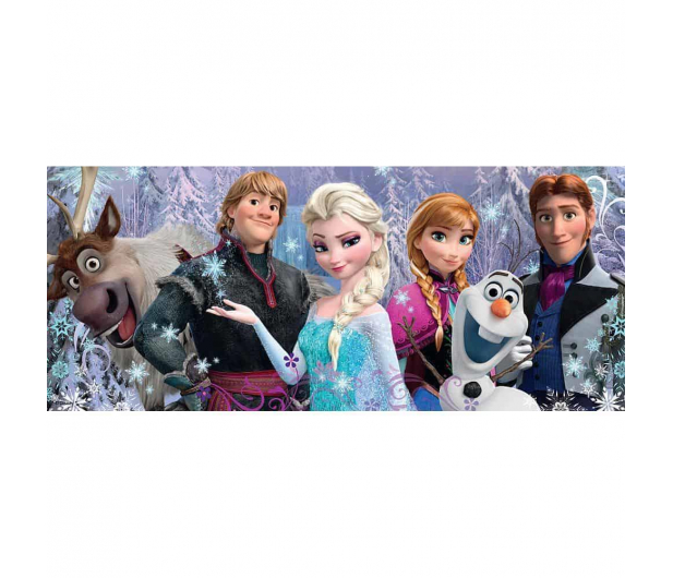 Ravensburger Disney Frozen Panorama 200 el. - 482873 - zdjęcie 2