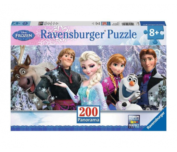 Ravensburger Disney Frozen Panorama 200 el. - 482873 - zdjęcie