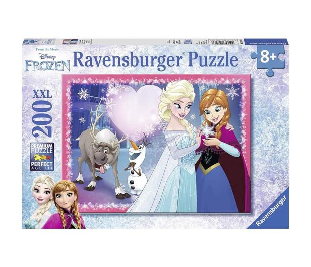 Ravensburger Disney Frozen siostrzana miłość 200 el - 482854 - zdjęcie