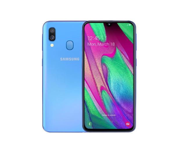 Samsung Galaxy A40 SM-A405FN Blue - 487566 - zdjęcie