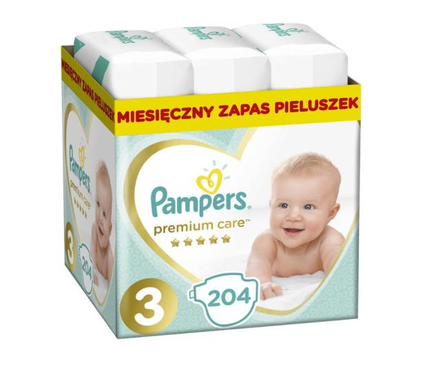 Pampers Premium Care 3 Midi 5-9 kg 204szt Zapas  - 491541 - zdjęcie