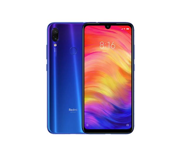 Xiaomi Redmi Note 7 4/64GB Neptune Blue - 482321 - zdjęcie