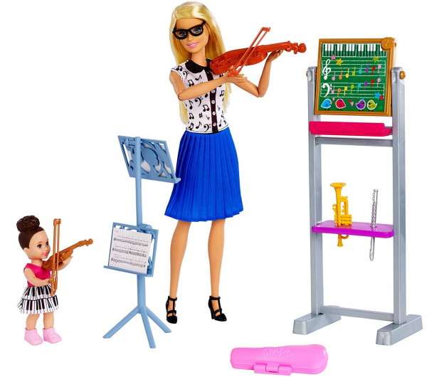 Barbie Kariera Nauczycielka Muzyki Zestaw - 488469 - zdjęcie 2