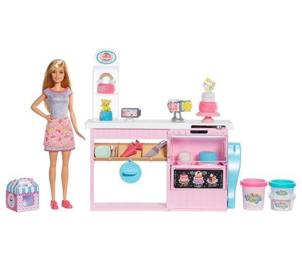 Barbie Pracownia Wypieków + Lalka - 488472 - zdjęcie