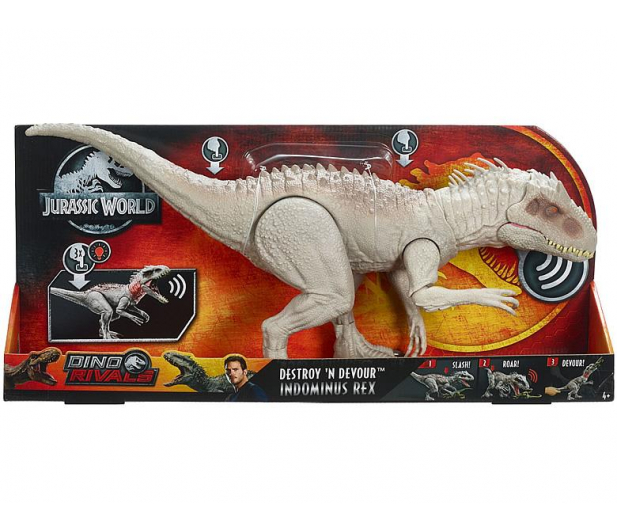 Mattel Jurassic World Indominus Rex - 488534 - zdjęcie 4