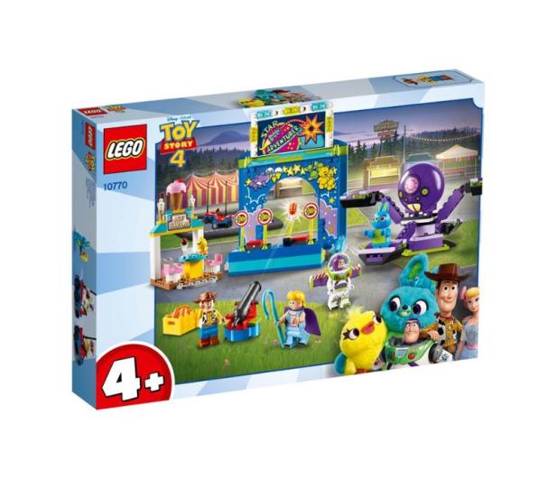 LEGO Toy Story 4 Karnawałowe szaleństwo Chudego i Buzza - 493458 - zdjęcie