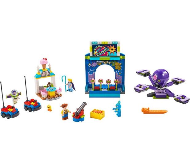 LEGO Toy Story 4 Karnawałowe szaleństwo Chudego i Buzza - 493458 - zdjęcie 2