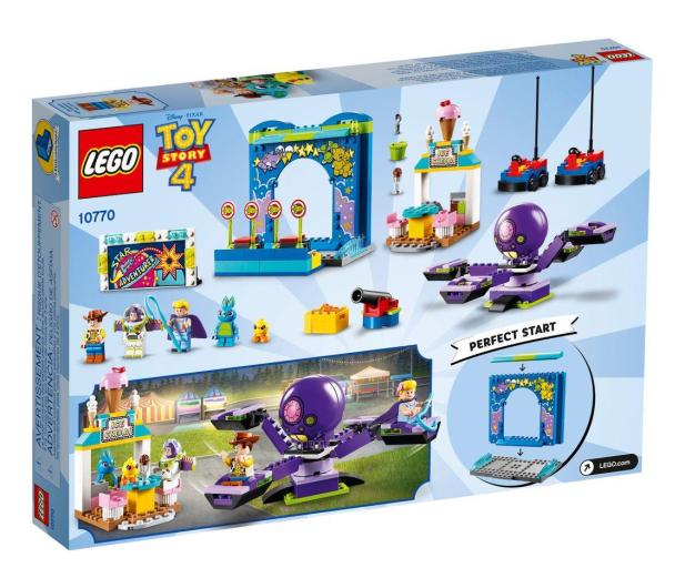 LEGO Toy Story 4 Karnawałowe szaleństwo Chudego i Buzza - 493458 - zdjęcie 3
