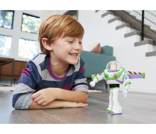Mattel Disney Toy Story 4 Interaktywny mówiący Buzz - 492712 - zdjęcie 6