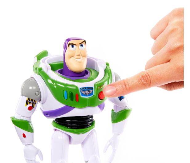 Mattel Disney Toy Story 4 Mówiący Buzz - 492709 - zdjęcie 5