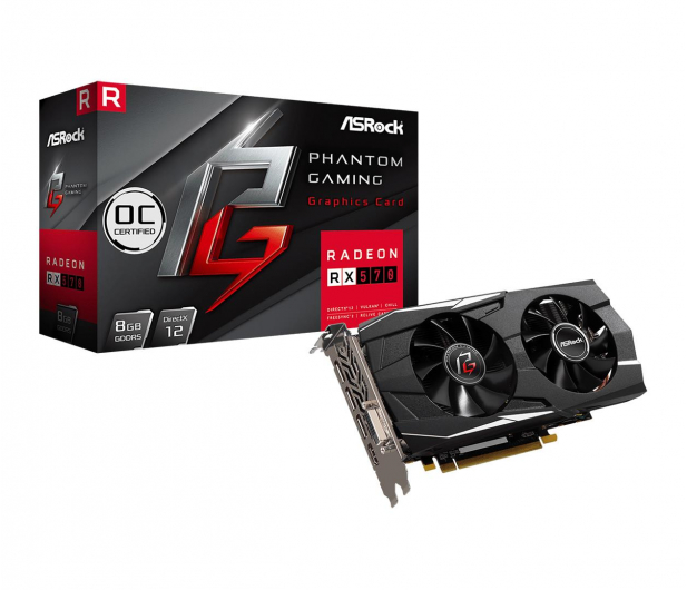 ASRock Radeon RX 570 Phantom Gaming D OC 8GB GDDR5 - 478689 - zdjęcie