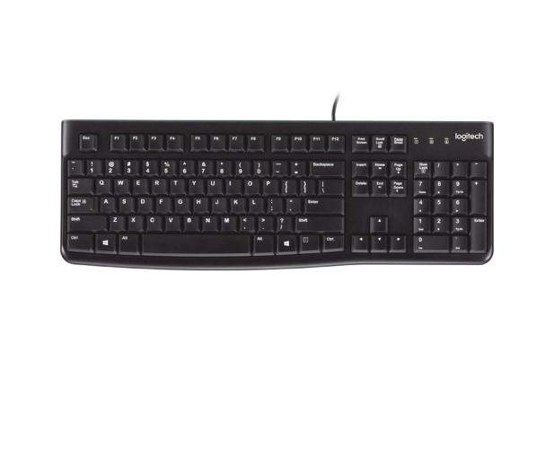 Logitech K120 Keyboard czarna USB - 57307 - zdjęcie