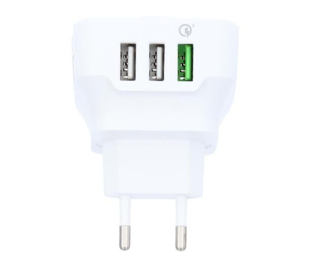 Silver Monkey Ładowarka sieciowa 3x USB, Quick Charge 3.0 - 487144 - zdjęcie 2