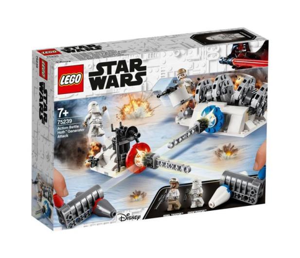 LEGO Star Wars Atak na generator na Hoth - 490087 - zdjęcie