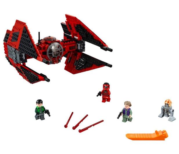 LEGO Star Wars Myśliwiec TIE Majora Vonrega - 490091 - zdjęcie 2