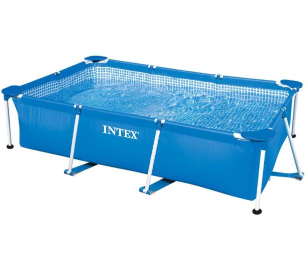 INTEX Basen Stelażowy Ogrodowy 260x160x65 cm - 477339 - zdjęcie