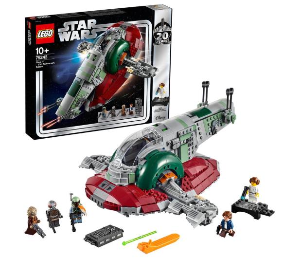 LEGO Star Wars Slave I - edycja rocznicowa  - 490117 - zdjęcie 2