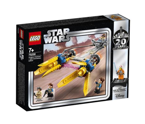 LEGO  Star Wars Ścigacz Anakina - edycja rocznicowa  - 490118 - zdjęcie