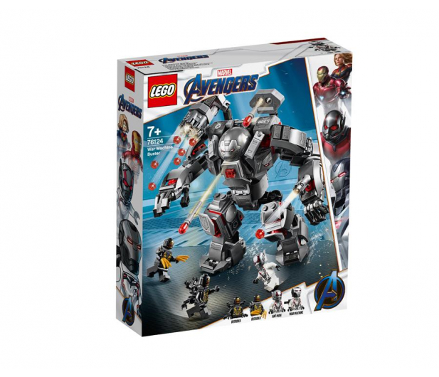 LEGO Marvel Super Heroes Pogromca War Machine - 490102 - zdjęcie