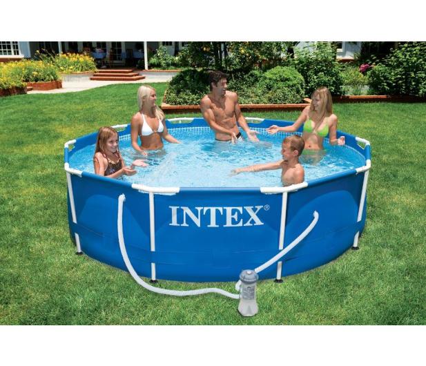 INTEX Basen stelażowy ogrodowy 366x76 cm - 477369 - zdjęcie 2