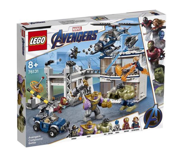 LEGO Marvel Super Heroes Bitwa w kwaterze Avengersów - 490109 - zdjęcie