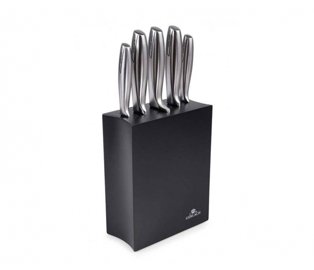 Gerlach Modern 993 Zestaw 5 noży w czarnym bloku - 490033 - zdjęcie