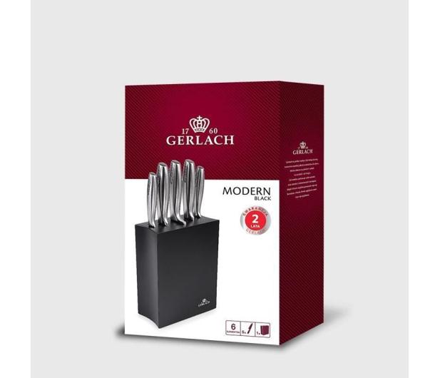 Gerlach Modern 993 Zestaw 5 noży w czarnym bloku - 490033 - zdjęcie 3