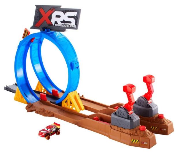 Mattel Cars XRS Wyzwanie Szalone Kraksy - 490104 - zdjęcie