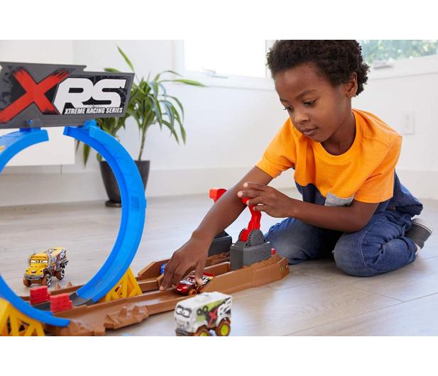 Mattel Cars XRS Wyzwanie Szalone Kraksy - 490104 - zdjęcie 5