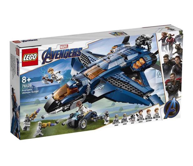 LEGO Marvel Super Heroes Wspaniały Quinjet Avengersów - 490110 - zdjęcie