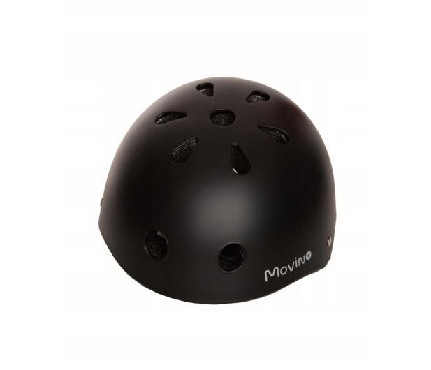 Movino Kask Ochronny Czarny Matowy rozmiar M (54-58cm) - 488239 - zdjęcie 3