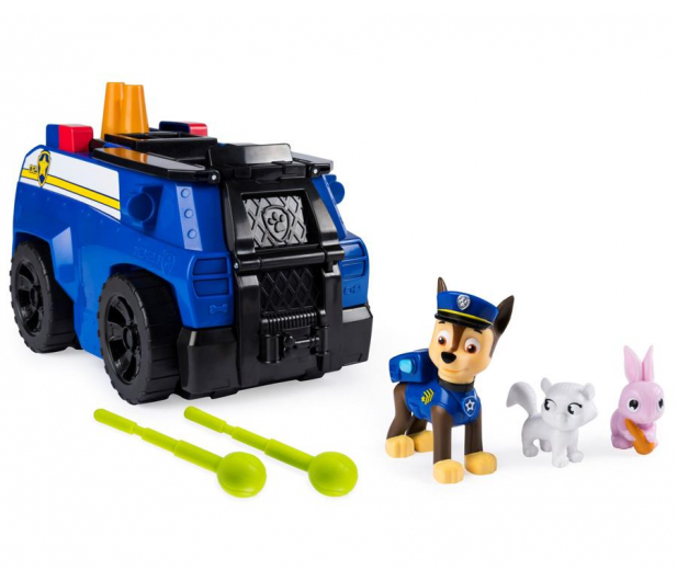 Spin Master Psi Patrol Transformujący radiowóz Chase - 495939 - zdjęcie