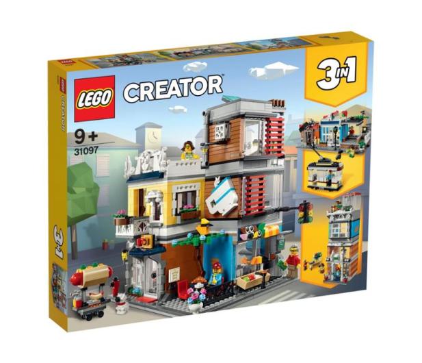 LEGO Creator Sklep zoologiczny i kawiarenka - 496107 - zdjęcie