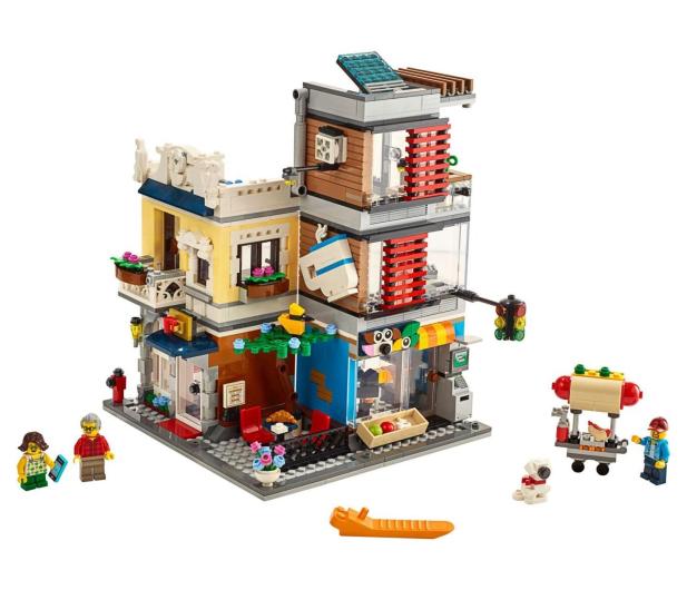 LEGO Creator Sklep zoologiczny i kawiarenka - 496107 - zdjęcie 2