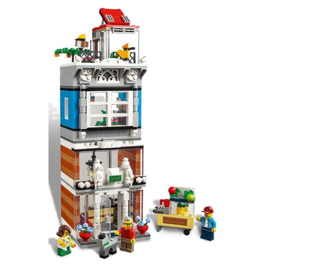 LEGO Creator Sklep zoologiczny i kawiarenka - 496107 - zdjęcie 3