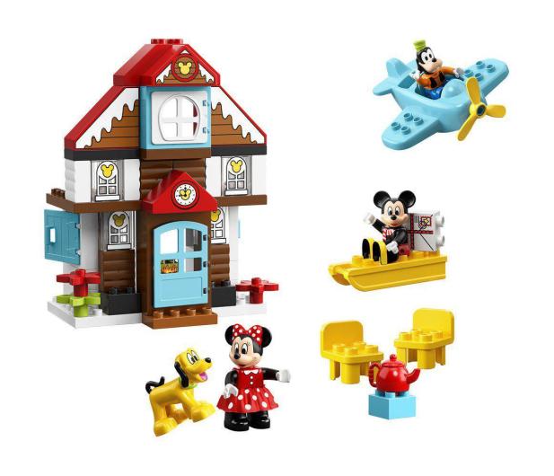 LEGO DUPLO Domek wakacyjny Mikiego - 496088 - zdjęcie 3